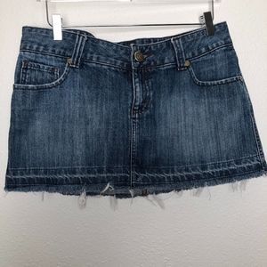 Hurley | Denim Jean Mini Skirt Junior 13